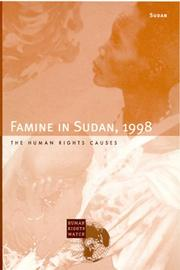 Cover of: Famine in Sudan, 1998
