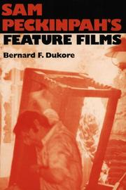 Cover of: Sam Peckinpah's feature films