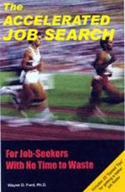 Cover of: The accelerated job search