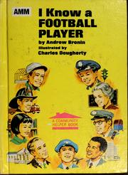 Cover of: I know a football player