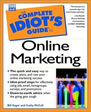 Cover of: The complete idiot's guide to online marketing
