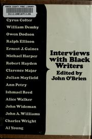 Cover of: Interviews with Black writers
