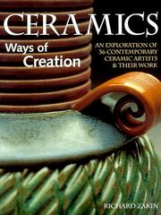 Cover of: Ceramics, ways of creation