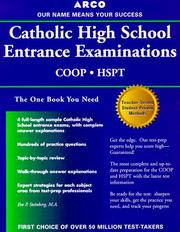 Cover of: Catholic High School Entrance Examinations