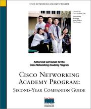 Cover of: Cisco Networking Academy Program