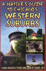 Cover of: A native's guide to Chicago's western suburbs