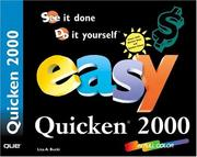 Cover of: Easy Quicken 2000