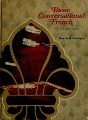 Cover of: Basic conversational French