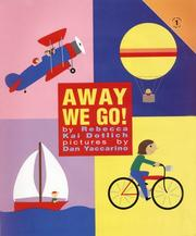Cover of: Away we go!