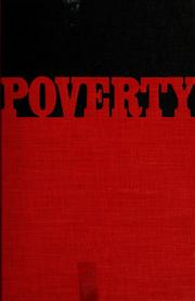 Cover of: Poverty: yesterday and today