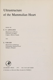 Cover of: Ultrastructure of the mammalian heart