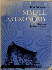 Cover of: Simple astronomy