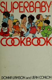 Cover of: Superbaby cookbook