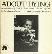 Cover of: About dying
