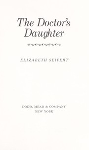 Cover of: The doctor's daughter