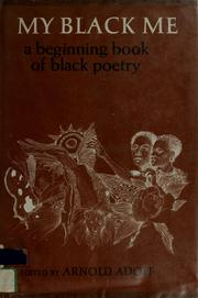 Cover of: My Black me