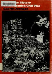 Cover of: A concise history of the Spanish Civil War