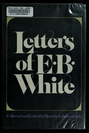 Cover of: Letters of E. B. White