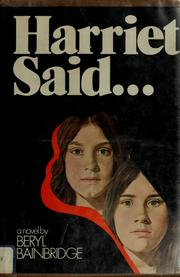 Cover of: Harriet said -