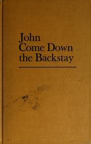 Cover of: John come down the backstay