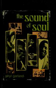 Cover of: The sound of soul