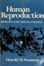 Cover of: Human reproduction; biology and social change