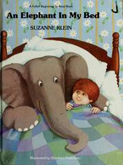 Cover of: An elephant in my bed