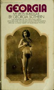 Cover of: Georgia: my life in burlesque