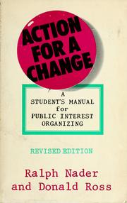 Cover of: Action for a change