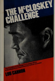Cover of: The McCloskey challenge