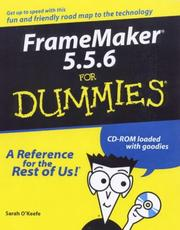 Cover of: Framemaker 5.5.6 for dummies