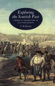 Cover of: Exploring the Scottish past