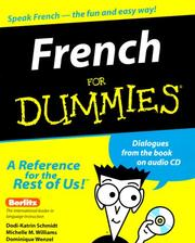 Cover of: French for dummies