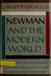 Cover of: Newman and the modern world