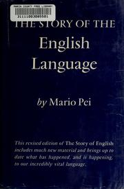 Cover of: The story of the English language