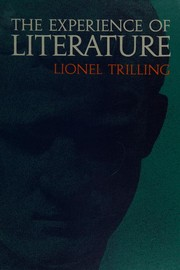 Cover of: The experience of literature