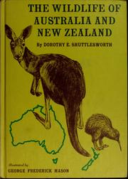Cover of: The wildlife of Australia and New Zealand
