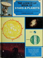 Cover of: The look-it-up book of stars and planets