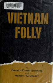 Cover of: Vietnam folly
