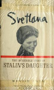 Cover of: Svetlana