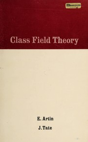 Cover of: Class field theory