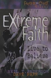 Cover of: Extreme faith