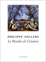 Cover of: Le paradis de Cézanne