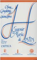 Cover of: Crítica