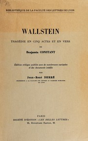 Cover of: Wallstein