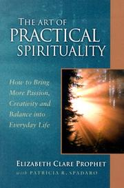 Cover of: The art of practical spirituality