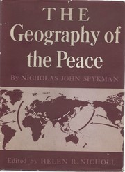 Cover of: The geography of the peace