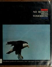 Cover of: No retreat from tomorrow