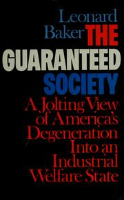Cover of: The guaranteed society