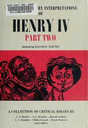 Cover of: Twentieth century interpretations of Henry IV, part two